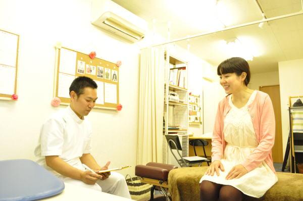 埼玉県川越市の頭痛専門マッサージ整体院「いぶきカイロプラクティック」のカウンセリング