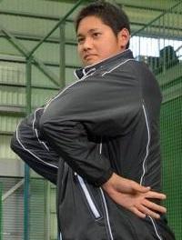 大谷選手の肩甲骨ストレッチ