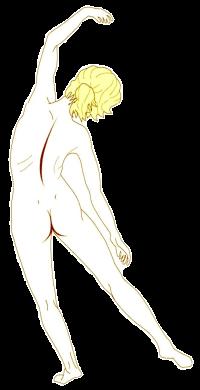 側屈のやり方が原因の腰痛