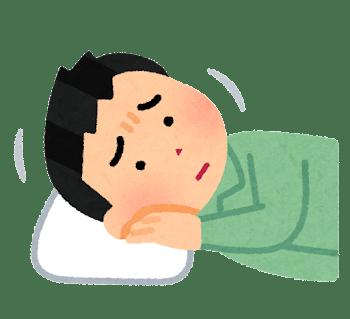 ストレートネックの睡眠障害