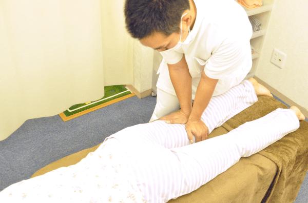 埼玉県川越市の頭痛・肩こり専門マッサージ整体院「いぶきカイロプラクティック」脚のマッサージ
